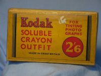 '     KODAK -BOXED-UNUSED-RARE ' Kodak  Boxed Crayon Set -MINT- £49.99
